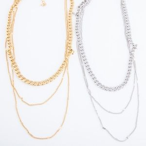 Dress Up Bar Jewelry - 💎3/$25💎 Curb chain link layered necklace